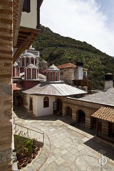 Monastery of Gregoriou, Mount Athos, Greece Macedonia Greece, Corfu, Greece Travel, Greek Islands, The Good Place, Beautiful Places, Italy, Athens, Monaco