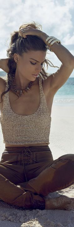 Ameron Russell by Miguel Reveriego...BOHO