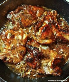 Balsamic Brown Sugar Rosemary Pork Chops Buy bone-in, thick cut. 10 minutes in instant pot Pork Chop Recipes, Meat Recipes, Chicken Recipes, Cooking Recipes, Healthy Recipes, Cooking Bacon, Bbq Chicken, Balsamic Pork Chops, Salads