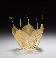 Skeletal Leaf Bowl Sculptures by Kay Sekimachi | Colossal