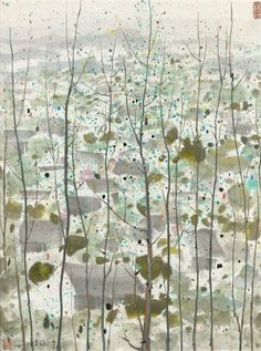 ARTISTS   Wu Guanzhong - Artworks   MyArtTracker