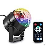 Review for Disco Ball Color Changing Sound Activated Rotating Crystal Magic Ball Projector... - Sarah Thompson  - Blog Booster