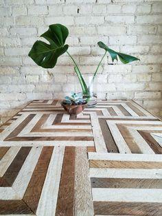 Reclaimed Wood Desk Wood Dining Table by EleventyOneStudio on Etsy