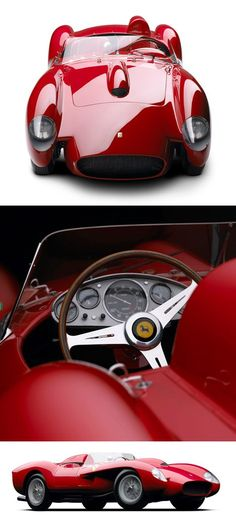 Ferrari 250 Testa Rossa (1958) I take back everything I ever said about the Covette '65. This is my car.