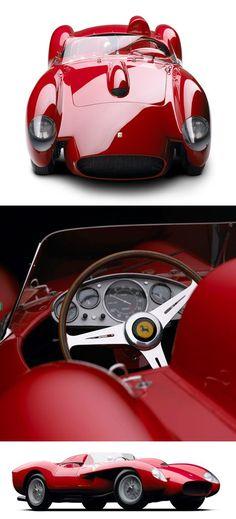 綺麗だな〜〜、こうなると完全なるアートですよね。フェラーリは「車を買う」と思ってはいけない。「アートを所有する」と思わないとダメ! Ferrari 250…