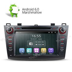 """﹩280.90. US GA7163 Android 6.0 Car DVD GPS Player Radio Bluetooth for Mazda 3 2010-2013 R   Screen Size - 8"""" High Definition Digital Capacitive Touch Screen, Operation System - Android Marshmallow 6.0, Resolution - 1024*600, Steering Wheel Control - Support( CANBUS System), WIFI/3G - Support(3G need to buy dongle extra), CPU - Allwinner R16 1.6GHz Cortex A7 Quad-Core, Supports app installation - Yes, Bluetooth - Support hands free,MP3 player,Phonebook,OBD2, DAB+ Input - Need to buy"""