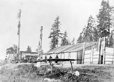 BC Archives La Rive, Indian Village, Reference Images, Vancouver Island, Canoe, Oregon, Archive, Outdoor, North West
