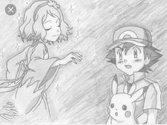 from Episode 79 ©Satoshi Tajiri/Nintendo Satoshi - Serena, . Pokemon Manga, Pokemon Comics, All Pokemon, Pokemon Ash And Misty, Pokemon Ash And Serena, Pikachu, Satoshi Tajiri, Ashes Love, Micro Lego
