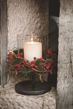 Domov tvoří detaily Christmas Time, Christmas Crafts, Merry Christmas, Christmas Decorations, Merry And Bright, Tis The Season, Wonderful Time, Happy Holidays, Candle Holders