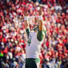 """""""This game, for me, was circled, dotted, starred, whatever you want to call it on the calendar. I really wanted to win this game.'' -- Bryce Petty, who was clearly #ReadyForOU with a 48-14 win. (Via @bayloruniversity on Instagram)"""