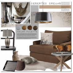 Interior wishlist 114 Deserted Dreams by anna-anica on Polyvore featuring polyvore interior interiors interior design home home decor interior decorating Zuo Modern Arteriors Surya Cyan Design Lori Harrison Designs Zentique Pure Home New Rustics Home Polyvorehome
