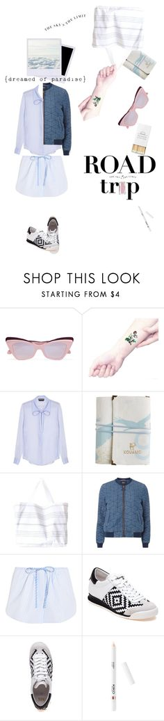 """Sleepwalking"" by froileinwalther ❤ liked on Polyvore featuring Karen Walker, Holga, Rochas, Turkish-T, Dorothy Perkins, Alexander Wang and Ash"