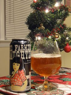 Mike's Brews The Farmer's Daughter, Lucette Brewing Company, Menomonie, WI