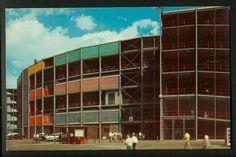 Minnesota Postcard: Outside of the old Metropolitan Stadium in Bloomington, Minnesota. The Mall of America now sits where Metropolitan Stadium used to be.