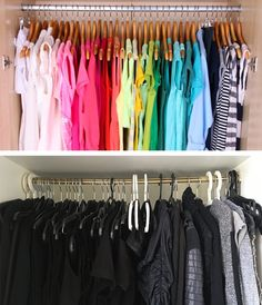 Sorting your clothes by color. : ExpectationVsReality