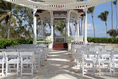 Waves Of Love Package Gazebo Ceremony Punta Cana Wedding Destination