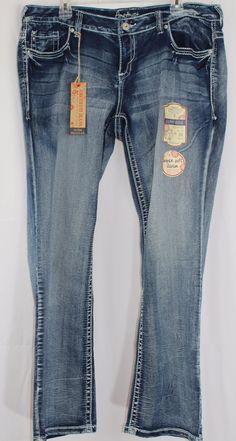 1c108bc46b5 Amethyst Stone Washed Low Rise PLUS SIZE SUPER SOFT STRETCH Denim Jeans