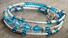 149.Bracelet mémoire de style gypsy. Fil mémoire. 3 par DesignLA