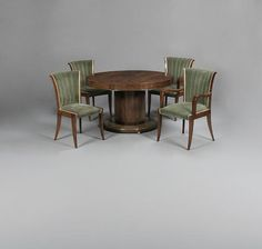 JULES LELEU Art Deco Dining Suite