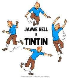 since Jamie Bell is also in TURN, I wonder who's going to do a Tintin-TURN mashup. Any takers? Animation Classes, Herge Tintin, Jamie Bell, Billy Elliot, Latest Books, My Childhood Memories, Httyd, The Hobbit, Comic Strips