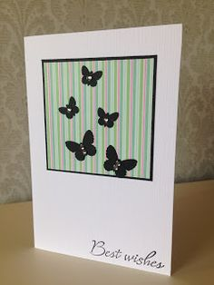 Randis hobbyverden: CAS kort med sommerfugler nr 4