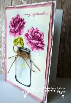 Like Paperberry Lane on Facebook for great card making and paper crafting ideas and techniques!