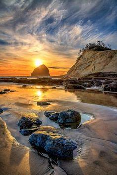 Cape Sunset  - Cape Kiwanda OR