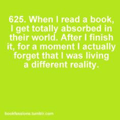 Love the power of books :-)