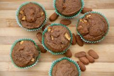 Bitter apple muffin with almonds and cinnamon | #vegan #glutenfree #organic