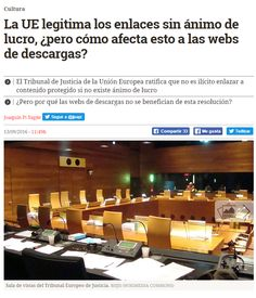 La UE legitima los enlaces sin ánimo de lucro / @eldiarioes | #readyforeurope #readytocopy