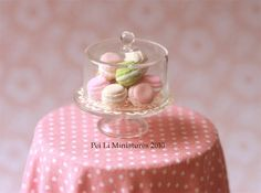 Air Dry Clay, Colours and Macarons