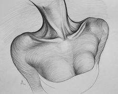 "Gefällt 4,497 Mal, 45 Kommentare - Андрей Самарин (@andreysamarin) auf Instagram: ""Pencil. 31.12.16. #neck #sketch #sketching #draw #drawing #pencil #sketch #lineart #bw #line…"""