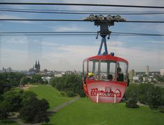 Kölner Seilbahn / #Cologne cable car ©Kölner Seilbahn