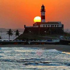Pôr do sol, Farol da Barra - Salvador  - Bahia