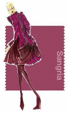 Dennis Basso Fall 2014 Color if fall- BeautiFALL with CAbi!