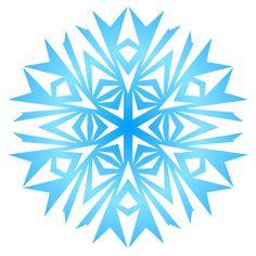 Как рисовать снежинки в векторе