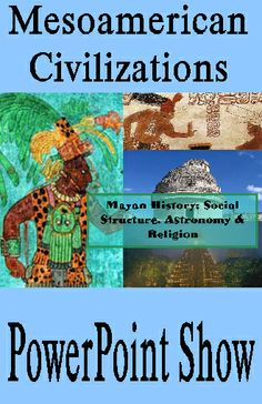 MAYAN HISTORY part 3: SOCIAL STRUCTURES, ASTRONOMY, and RELIGION PowerPoint Presentation Ancient star gazers mapping the heavens so accurately that they pinpointed every future lunar and solar eclipse 1,000 years into the future. Why were such accurate predictions so important to the ancient Maya? How did they organize their civilization? What was the relationship between astronomy and religion. 57 slides C.C.S. RH.6-8.1, RH.6-8.5, RH.6-8.7, WHST.6-8.10, SL.7.2, SL.7.1 $