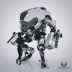 cyberclays: D.Va - Overwatch fan art by Mark Chang More...