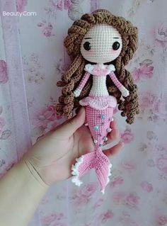 Irish Crochet Patterns, Crochet Dolls Free Patterns, Crochet Crafts, Crochet Projects, Knit Crochet, Doll Amigurumi Free Pattern, Amigurumi Doll, Crochet Doll Tutorial, Crochet Princess