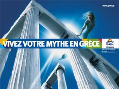 …if we were asked today to rebrand Greece Bad Image, Poster Ads, Travel Posters, Travel Guides, Netherlands, Greece, Tourism, Germany, Europe