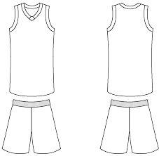basketball uniform layout - Google Search d355a6b9e017