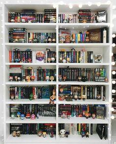 New bedroom goals dream rooms heavens Ideas Baymax, I Love Books, Books To Read, My Books, Bookshelf Inspiration, Diy Rangement, Dream Library, Book Aesthetic, Shelfie