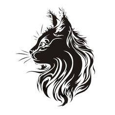17*21 СМ Творческий Кошка Автомобиля Стикер Винила Fation Личность Животных Стайлинга Автомобилей Наклейки Черный/Серебристый S1-0090