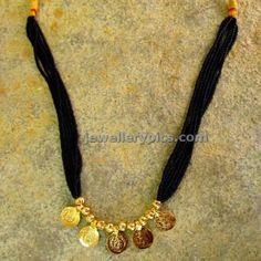 Maharashtrian Kolhapur Mangalsutra designs - Latest Jewellery Designs