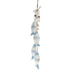 Decorative wooden fish - hanging fish ornaments ideal as decoration in a fish restaurant, bunches of hanging fish, wooden school of fish art and other fish themed decorative items including decorative fish, ceramic fish and metal fish wall hangings.
