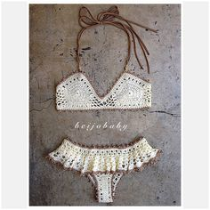 Bikini de ganchillo bikini personalizado de Lolita por beijobaby