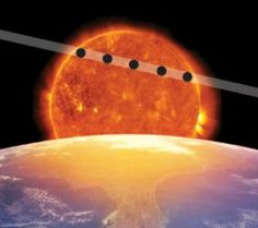 Transit of Venus will occur here in the southern end of Utah on Tuesday, June 5, 2012 from 1500 to 2100.