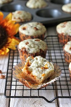 Banana Cinnamon Chip Muffins from Damn Delicious