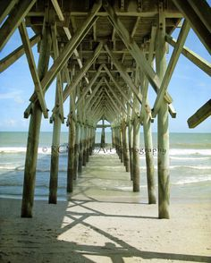 Myrtle Beach - always makes me nervous to walk under piers with people fishing off them using those great big hooks.