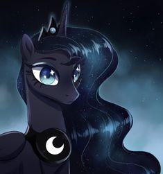 Drawfriend Stuff - BEST Drawings of Luna! My Little Pony Princess, My Little Pony Twilight, Mlp My Little Pony, My Little Pony Friendship, Princesa Celestia, Celestia And Luna, My Little Pony Wallpaper, Nightmare Moon, My Little Pony Characters